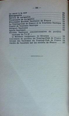 TOURING CLUB de FRANCE, Mémento de tourisme nautique, TCF, 1936 (la Bibli du Canoe)