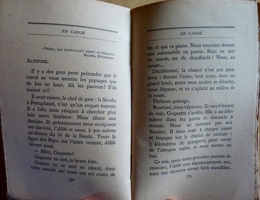 CHENU, En canoë, 1928 (la Bibli du Canoe)