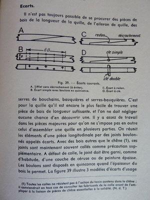 STEWARD, Manuel de construction des bateaux en bois, éd. Maritimes et d'Outre-mer, 1964 (la Bibli du Canoe)
