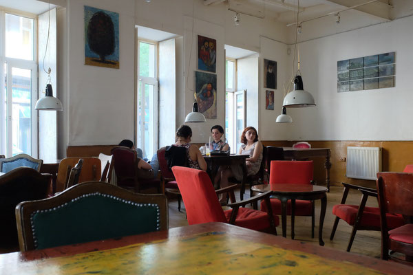 Cafe Gallery with Natia (Women WISG), Tbilisi