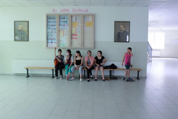 School, Refugee Village, Georgia