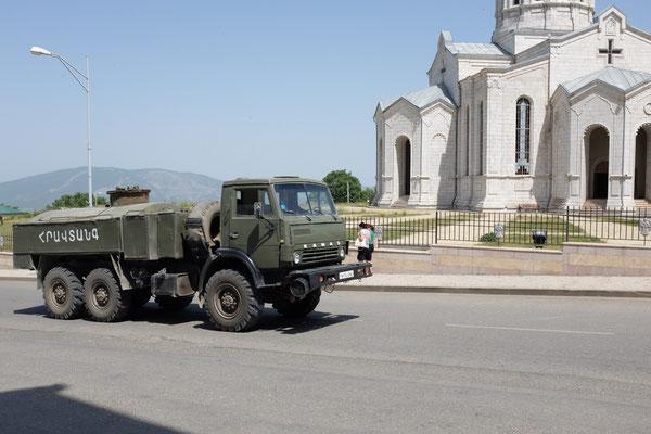 Ghazanchetsots Cathedral, Sushi, Nagorno Karabakh
