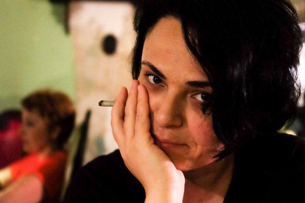 Tamta, Writer, Sofia Melnikova Café, Tbilisi