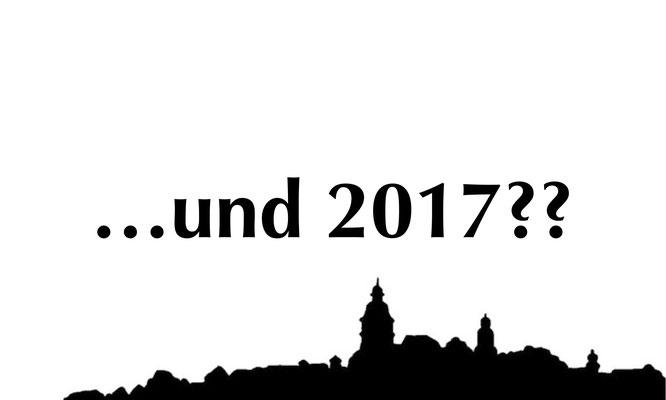 Lassen Sie sich überraschen. das Jahresprogramm 2017 wird in der Jahreshauptversammlung vorgestellt (25.2.17, 15:00; Schlosshotel Weilburg)