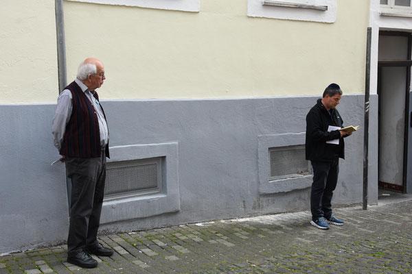 Joachim Warlies und Ido Michel – Foto:  © Margit Bach