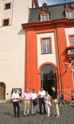 …und ging dabei auch auf den Denkmalschutz im Kontext der Stadtentwicklung ein. (Foto: Horz)