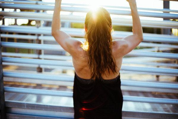 Gesundheit, Fit, Frau, Training, Sport, Bewegung