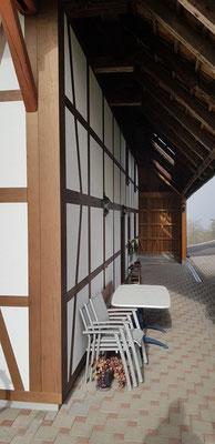 Fassadensanierung Riegimitation