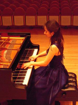 2012年新堀聡子ピアノリサイタル:ルーテルホール