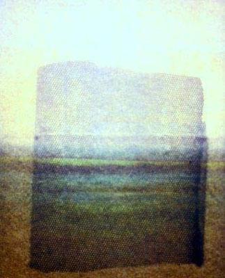 Mixed media, A4, screenprint, barred slide lightbox, photo. Edition 1/1