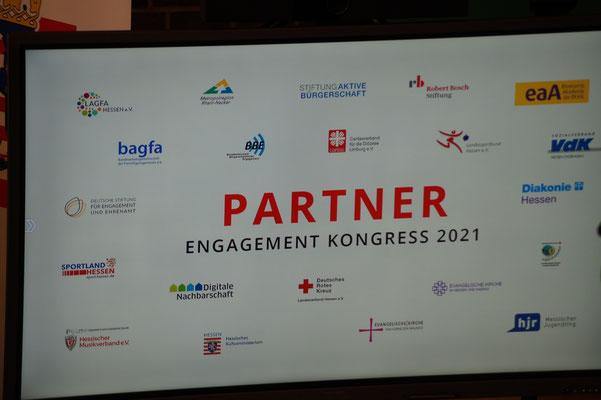 Danke an die Partner beim II. Hessischen Engagementkongress 2021 an der Ev. Hochschule Darmstadt.   © Foto: S. Schlitt, EKKW