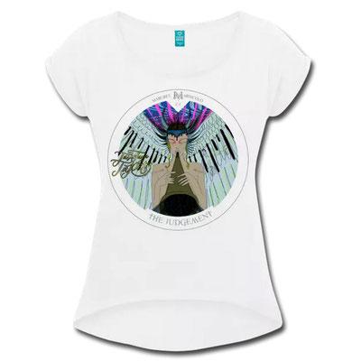 Das Gericht im Tarot als T-Shirt von Margret Marincolo bei Spreadshirt kaufen