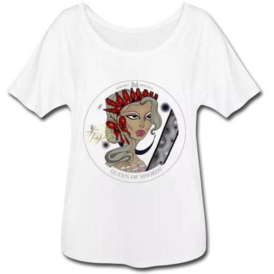 Königin der Schwerter im Tarot von Margret Marincolo als T-Shirt bei Spreadshirt kaufen
