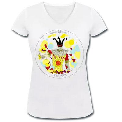 Der Narr im Tarot von Margret Marincolo als T-Shirt bei Spreadshirt kaufen