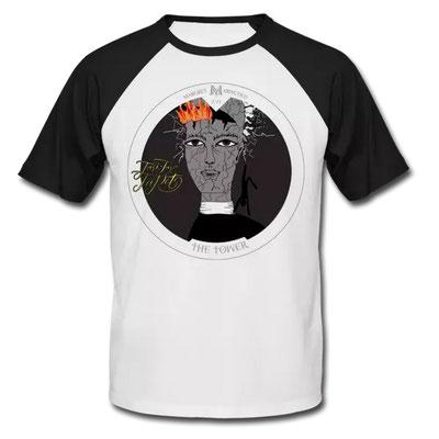 Der Turm im Tarot von Margret Marincolo als T-Shirt bei Spreadshirt kaufen
