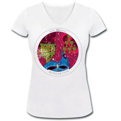Sieben der Kelche im Tarot von Margret Marincolo als T-Shirt bei Spreadshirt kaufen