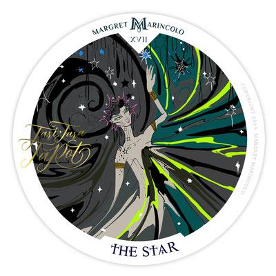Der Stern (17) im Tarot als Tageskarte von Margret Marincolo: Rise up! Nimm deinen Platz am Himmel ein.