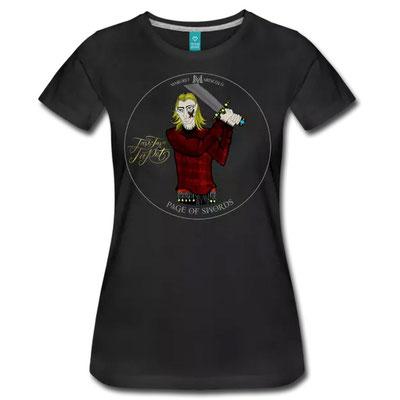 Der Bube der Schwerter im Tarot von Margret Marincolo als T-Shirt bei Spreadshirt kaufen