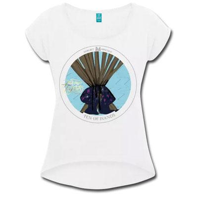 Zehn der Stäbe im Tarot von Margret Marincolo als T-Shirt bei Spreadshirt kaufen