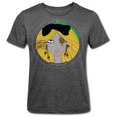 Sechs der Kelche im Tarot von Margret Marincolo als T-Shirt bei Spreadshirt kaufen