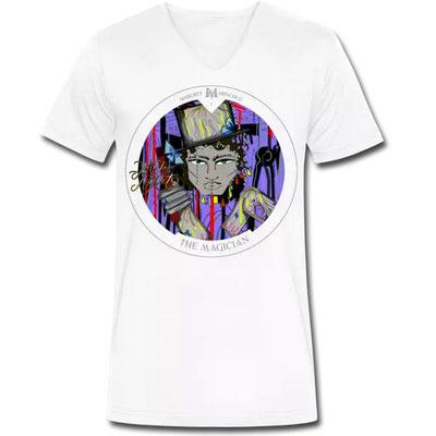 Der Magier im Tarot als T-Shirt von Margret Marincolo bei Spreadshirt kaufen