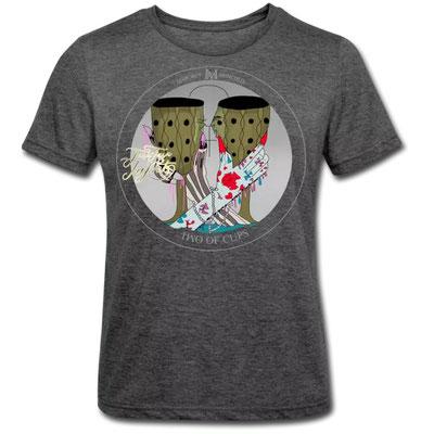 Zwei der Münzen im Tarot von Margret Marincolo als T-Shirt bei Spreadshirt kaufen