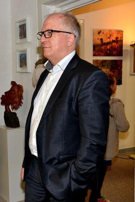 Kulturdezernent der Stadt Lünen, Horst Müller-Baß