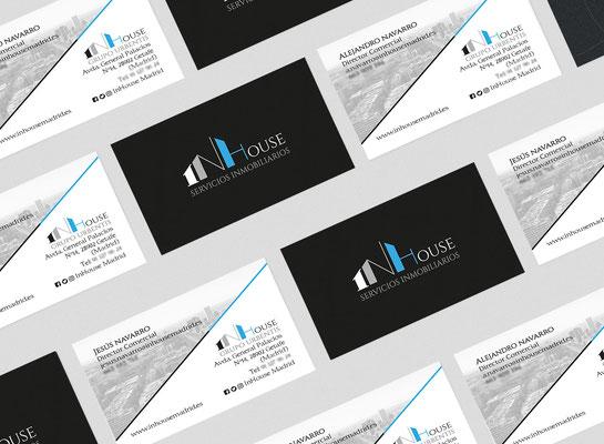 Diseño de identidad corporativa de InHouse Madrid