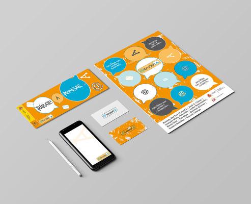 Diseño de identidad corporativa del programa ASEGÚRATE (IASED)