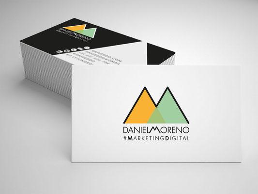 Diseño de identidad corporativa de Daniel Moreno
