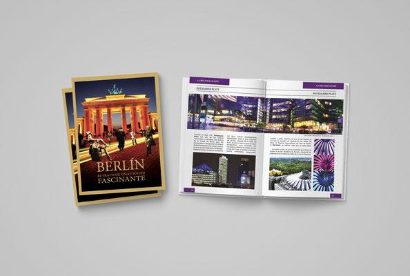 """Diseño y maquetación del libro """"Berlín, retrato de una ciudad fascinante"""" de BERLIN EVENTS & TOURS"""