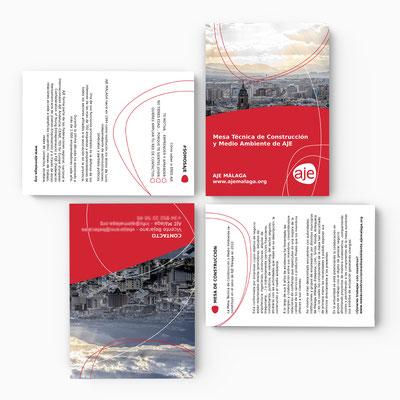 Diseño de Catálogo para la Mesa Técnica de construcción y Medio Ambiente de AJE Málaga