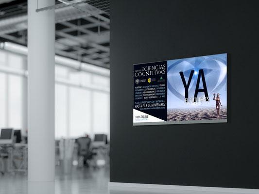 Diseño de publicidad digital para el Máster en Ciencias Cognitivas de la Universidad de Málaga