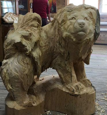 "Skulptur Hund - ""George"" Lkhagvadorj Dorjsuren"