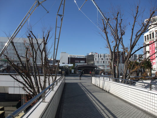 快晴!JR戸塚駅からスタート