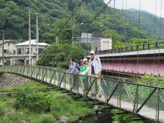 前田橋(吊り橋)