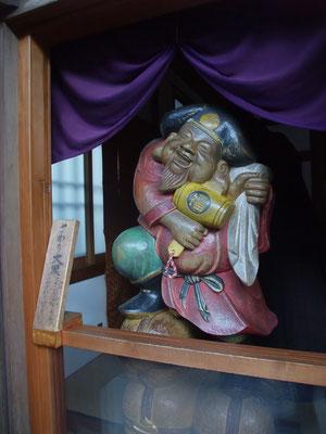 七福神の〆は長谷寺の大黒様。