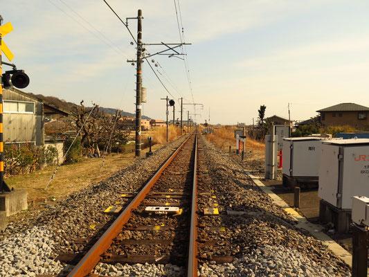 線路は続くよ、どこまでも