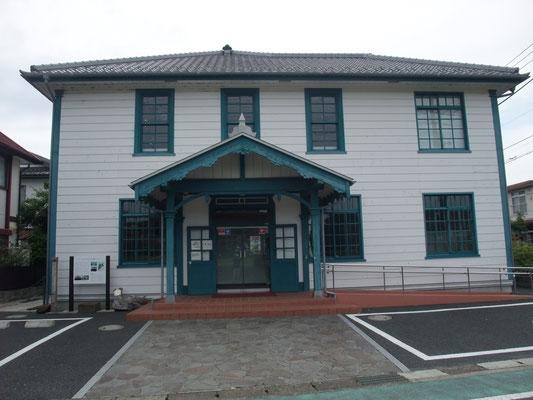 大正時代の海老名村役場を改装した海老名市温故館の建物外観