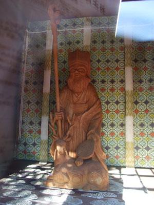 続いて妙隆寺の寿老人。