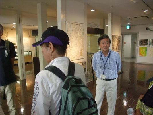 温故館の木村さんが詳しく説明してくださった