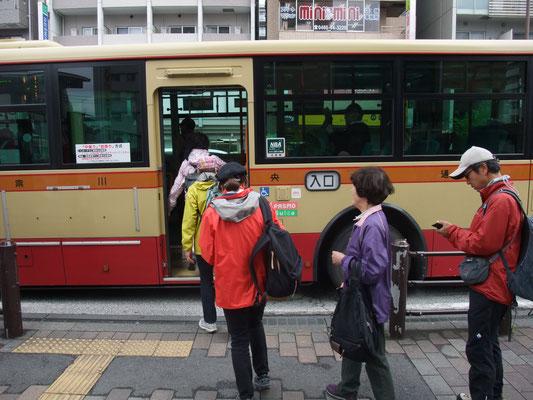 小田急線湘南台駅からバスで慶応大学前まで