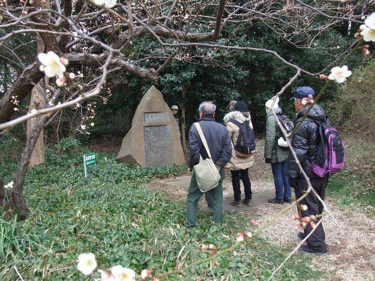 創始者高田畊安の碑