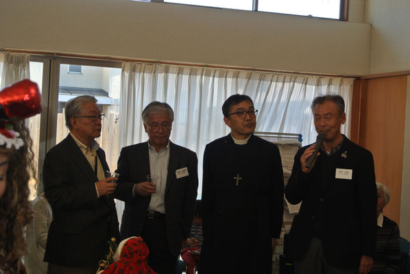 お世話になりました宇津山司祭4月に平塚の教会へ