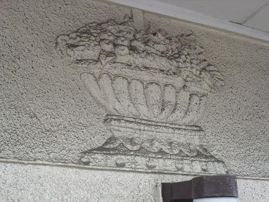 モルタルの外装飾り