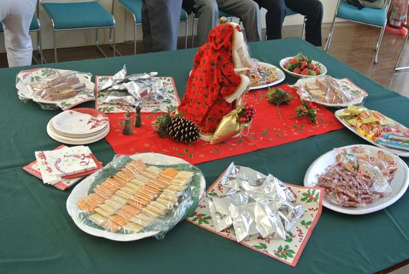 クリスマス会の雰囲気