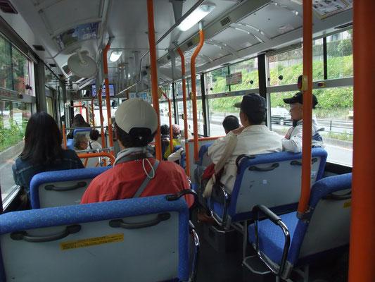 待ち時間なしに辻堂行バスに乗車