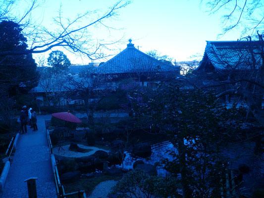 夕方の長谷寺