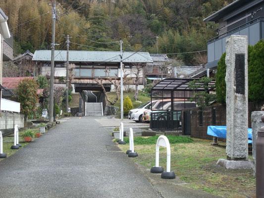 長慶寺の山門?