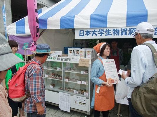 日大藤沢もハム、ソーセージを販売
